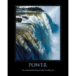 Power Personalized Art Print