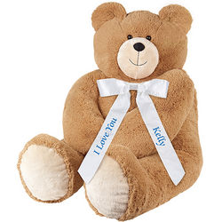 4.5' Big Hunka Love Say Anything Teddy Bear