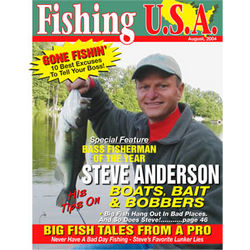 Personalized Fisherman Magazine Cover Label