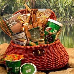 Fisherman's Fishing Snacks Gift Basket