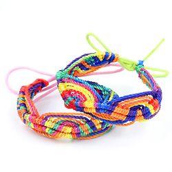 Rainbow Connection Friendship Bracelet Findgift Com
