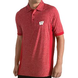 Men's Wisconsin Badgers Talent Polo Shirt