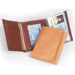 Uptown Trifold Leather Wallet