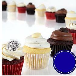 One Dozen Chocolate, Vanilla, & Red Velvet Cupcakes