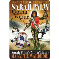 Sarah Palin Magnetic Dress Up Set
