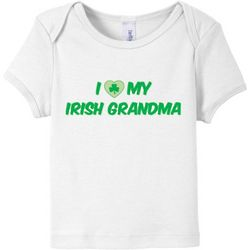 I Love My Irish Grandma Baby T-Shirt