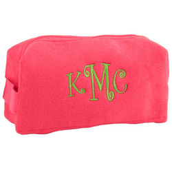 Personalized Small Pink Cosmetic Bag