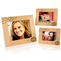 Sexy B*tch Wooden Picture Frame