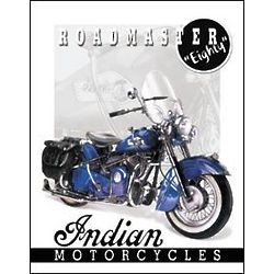 Indian Motorcycles '51 Roadmaster Tin Sign