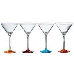 British-Inspired Martini Glass Set