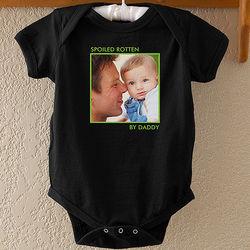Personalized Photo Baby Bodysuit