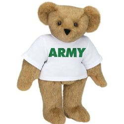 "15"" Army T-Shirt Teddy Bear"