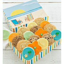 Summer Beach Cookie Gift Box