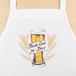 Thank God for Beer Golden Pilsner Apron