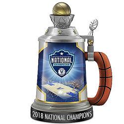 Villanova Wildcats 2018 NCAA National Champions Porcelain Stein