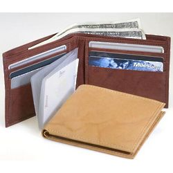 Comprehensive Bifold Leather Wallet