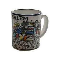 Large Jerusalem Mug
