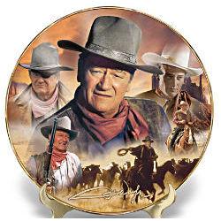 John Wayne Centennial Collector Plate