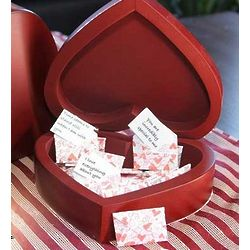 Heart Box of Romantic Notes