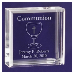 Personalized Communion Keepsake