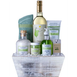 Wine and Spa Gift Set