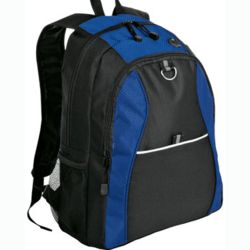 Contrast Honeycomb Personalized Backpack