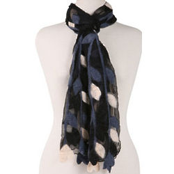 Light and Shadows Silk Scarf