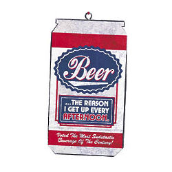 Beer is the Reason Ornament