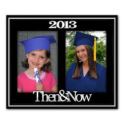 2013 Then and Now Collage Frame
