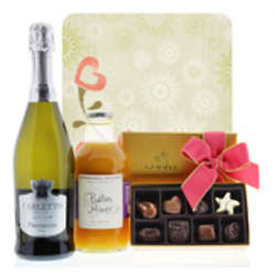 Spring Bellinis and Godiva Chocolate Gift Set