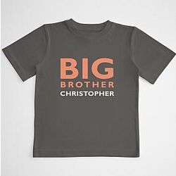 Siblings Boy's Personalized T-Shirt