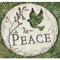 Peace Garden Stone or Wall Hanging