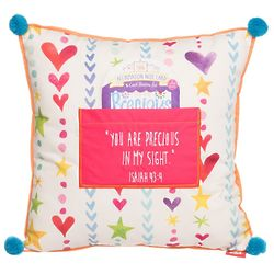Let Your Light Shine Precious Pocket Pillow