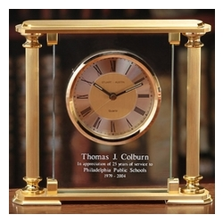 Personalized Jefferson Retirement Clock