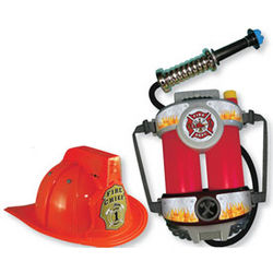 Fire Chief Toy Helmet