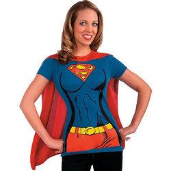 Women's Supergirl Costume Shirt