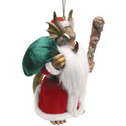 Dragon Claus Ornament