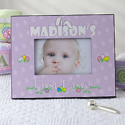 Baby's First Easter Personalized Picture Frame