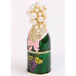 Champagne Bottle Trinket Box