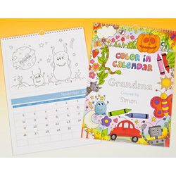Color in Personalized Calendar