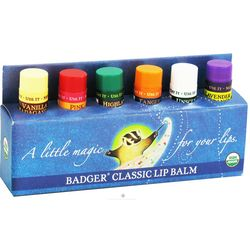 Organic Flavored Lip Balm Gift Set