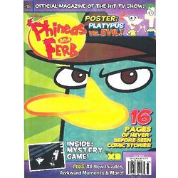 Phineas & Ferb Magazine Subscription