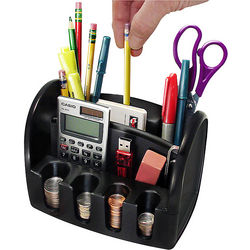 Desktop Organizer with Electric Pencil Sharpener