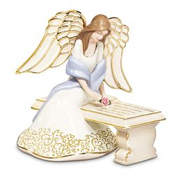 With You Always Porcelain Angel Figurine