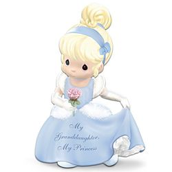 Disney Precious Moments My Granddaughter Cinderella Figurine