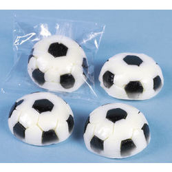 Soccer-Ball Shaped Gummy Candy