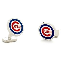 Sterling Chicago Cubs Cufflinks