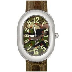 Military Pattern Dial and Date Watch