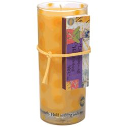 Live Passionately Juice Glass Candle