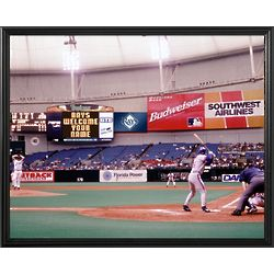 Tampa Bay Rays Personalized Scoreboard 11x14 Framed Canvas